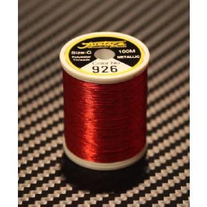 JustAce メタリックスレッド  C  #926  RED|ryuseifw