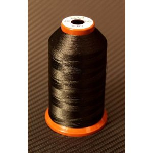 KIRO World  POLYESTER THREAD #001 Black (D30) 2000m|ryuseifw