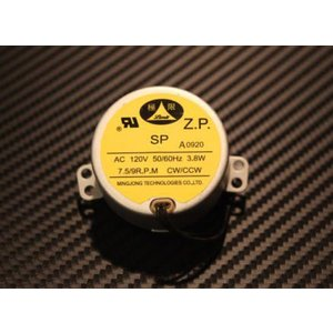 ALPS シンクロナスモーター 120V/7.5-9RPM ryuseifw