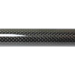 SKELTOR WORKS  ストレートカーボンパイプ 450mm 【ウーヴン】 ID/16〜18mm ryuseifw