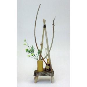 流木アート A0504 花台・飾り台 流木のレア一点物 高さ62.7cm ディスプレィに最適|ryuubokua-to