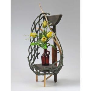 流木アート  A0512 花台・飾り台 高さ52.6cm  おしゃれなインテリア|ryuubokua-to