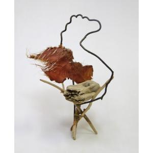 流木アート  A0587 花台・飾り台 流木のレア一点物 高さ44.5cm ディスプレィに最適|ryuubokua-to