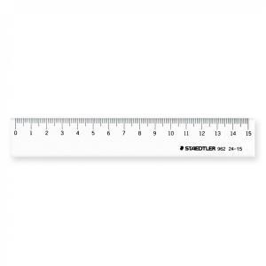 【ステッドラー】直線 定規 15cm 96224-15/ものさし さし 製図 新学期 文具【メール便OK】|s-bunkadou