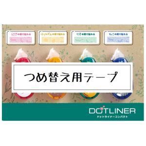 コクヨ 数量限定 テープのり ドットライナーコンパクト 詰替え用 タ-DM4500-08L-RE メール便OK|s-bunkadou