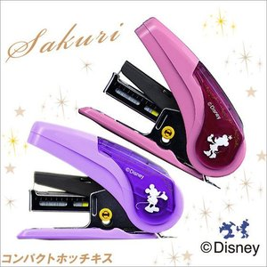 ホッチキス SAKURI(サクリ) /ディズニーコレクション/ミッキー・ミニー/ HD-10NLK/MAX|s-bunkadou