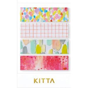 ちいさく持てるマスキングテープ KITTA キッタ Clear KITT001 ドロップ【キングジム】メール便OK|s-bunkadou