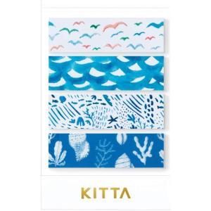 ちいさく持てるマスキングテープ KITTA キッタ Clear KITT002 ウミベ【キングジム】メール便OK|s-bunkadou