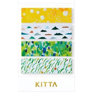 ちいさく持てるマスキングテープ KITTA キッタ Clear KITT003 ヤマナミ【キングジム】メール便OK|s-bunkadou