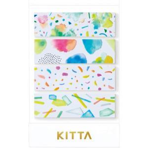 ちいさく持てるマスキングテープ KITTA キッタ Clear KITT004 ヒカリ【キングジム】メール便OK|s-bunkadou