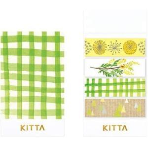 【キングジム】ちいさく持てるマスキングテープ キッタ KITTA サンポ KITX004 / マステ スケジュール帳 手帳 【メール便OK】|s-bunkadou