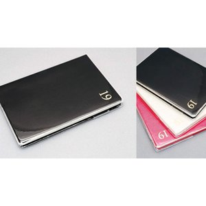 B6 VERTICAL LEFT WORK DIARY  B6サイズのバーチカル手帳。  コットン素...
