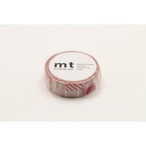 マスキングテープ mt 1P ミックス・レッド / MT01D121【カモ井】マステ/mt/メール便OK|s-bunkadou