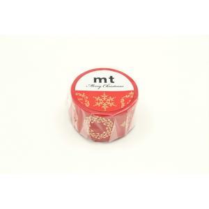 mt 限定 クリスマス2019 装飾活字 MTCMAS105(カモ井)マスキングテープ プレゼント (メール便OK)|s-bunkadou