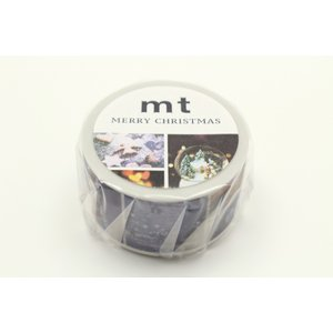 mt 限定 クリスマス2018 クリスマスフォト MTCMAS99(カモ井)マスキングテープ マステ ギフト プレゼント (メール便OK) s-bunkadou