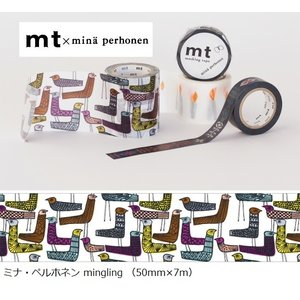 mt×ミナペルホネン MTMINA40 カモ井 mingling 50mm×7m ラッピング mina perhonen メール便NG s-bunkadou