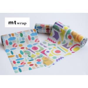 mt wrap s 布目 ラッピングペーパー MTWRMI81/82 カモ井 155mm×5m プレゼント 包装紙 メール便NG s-bunkadou