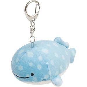 【サンエックス】じんべえさん スーパーもーちもちぶらさげぬいぐるみ(じんべえさん) MX02801 / 海 夏 深海魚【メール便OK】|s-bunkadou
