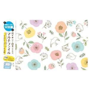 古川紙工 抗菌マルチファイル (小鳥とお花) QE21-280【メール便OK】|s-bunkadou