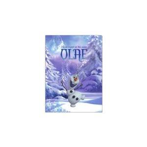 アナと雪の女王 クリアファイル(オラフ)/見開きタイプ(2ポケット)/S2157470【メール便OK】 s-bunkadou