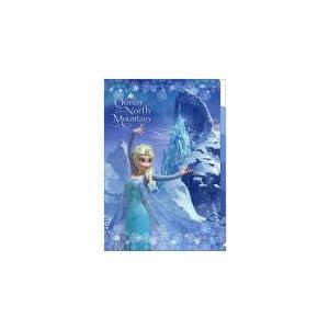 アナと雪の女王 クリアファイル(エルサ)/5P仕切り/S2157527【メール便OK】 s-bunkadou