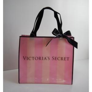 ヴィクトリアシークレット VICTORIA'S SECRET ミニバッグ バッグ ピンク ストライプ |s-doubleone