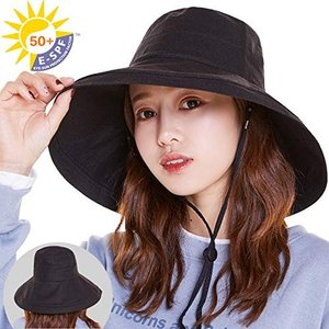 素材:綿麻 サイズ:頭周り約54-58、高さ約10、ツバ約14 この帽子のつば広いので、お顔がもちろ...