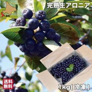 北海道 アロニア 冷凍 果実 1kg|s-hokkaido