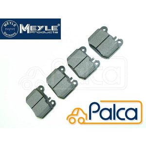 メルセデス ベンツ リア ブレーキパッド W163/ML320,ML350,ML430,ML55AMG,ML270CDI A289560/X754620以降 後期用 マイレ製 1634201120 s-hokusyo