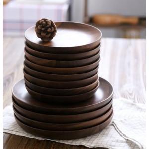 くるみ 無垢材 木製皿 【在庫有 即納可能です】/ cf0086
