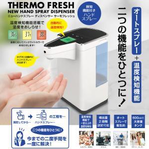 非接触で検温とスプレーを同時に!ニューハンドスプレーディスペンサー THERMO FRESH |s-label