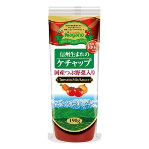 ナガノトマト国産つぶ野菜入り信州生まれのトマトケチャップ 295g s-mart-store