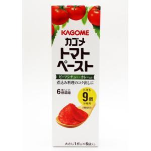 カゴメ トマトペースト 6本入×15個(1ケース)