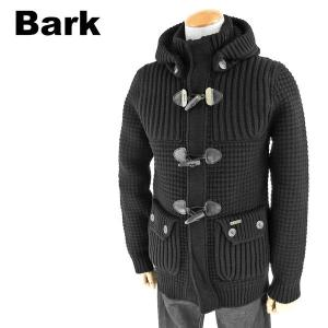 ##//BARK バーク メンズ 32B8001 イタリア製 ニットダッフルコート  カラー261-BLACK/ブラック サイズ/XS  参考上代/6万6150円++ s-musee