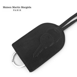 レザーキーリング black ★ Maison Martin Margiela