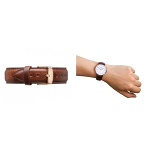 Daniel Wellington  ユニセックス ボーイズ DW0010006(0106DW) Classic St Mawes 40mm 腕時計 レザーバンド カラー/ローズゴールド サイズ/|s-musee|02