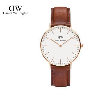 Daniel Wellington ダニエルウェリントン ユニセックス 0507DW Classic St. Mawes 36mm 腕時計 レザーバンド カラー/ローズゴールド サイズ/|s-musee