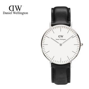 Daniel Wellington ダニエルウェリントン ユニセックス 0608DW Classic Sheffield 36mm 腕時計 レザーバンド カラー/シルバー サイズ/|s-musee