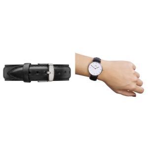 Daniel Wellington ダニエルウェリントン ユニセックス 0608DW Classic Sheffield 36mm 腕時計 レザーバンド カラー/シルバー サイズ/|s-musee|02