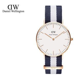 Daniel Wellington ダニエルウェリントン ユニセックス 0503DW Classic Glasgow 36mm 腕時計 NATOバンド カラー/ローズゴールド サイズ/|s-musee