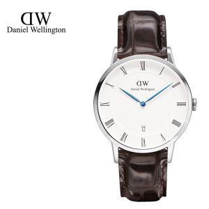 Daniel Wellington ダニエルウェリントン ユニセックス ボーイズ 1122DW Dapper York 38mm 腕時計 レザーバンド カラー/シルバー サイズ/ 34560|s-musee