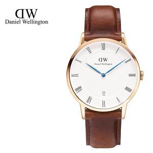 Daniel Wellington ダニエルウェリントン ユニセックス ボーイズ 1100DW Dapper St Mawes 38mm 腕時計 レザーバンド カラー/ローズゴールド サイズ/ 34560|s-musee