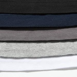 three dots スリードッツ Jessica ジェシカ Uネック 半袖 Tシャツ カットソー 無地 AA1S 004 カラー5色 レディース|s-musee|07