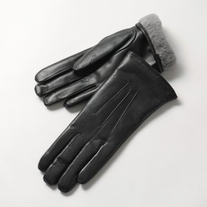 DENTS デンツ レディース 17-1061 Ripley コニーファーライニング レザー グローブ 手袋 手ぶくろ アームウェア カラーBlack|s-musee