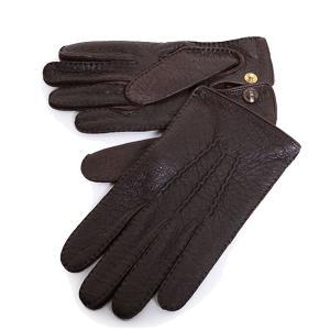 DENTS デンツ 15-1043 THE HERITAGE COLLECTION ヘリテージコレクション ペッカリーレザー グローブ 手袋 手ぶくろ アームウェア カラーBark 56160|s-musee