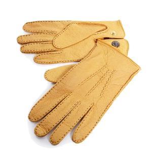DENTS デンツ メンズ 15-1043 THE HERITAGE COLLECTION ヘリテージコレクション ペッカリーレザー グローブ 手袋 手ぶくろ アームウェア カラーCork 56160|s-musee