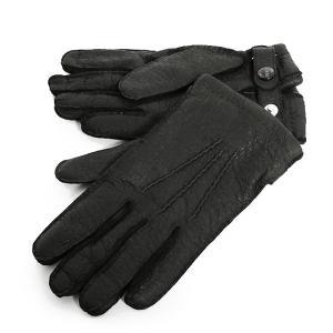 DENTS デンツ 15-1564 THE HERITAGE COLLECTION ヘリテージコレクション ペッカリーレザー グローブ 手袋 手ぶくろ アームウェア カラーBlack 74520|s-musee