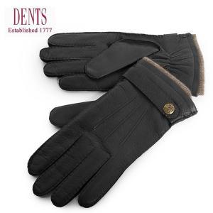 DENTS デンツ メンズ 5-1548 Gloucester レザー カシミヤ カシミアライニング グローブ 手袋 手ぶくろ アームウェア カラーBlack 31320|s-musee