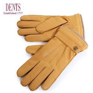 DENTS デンツ メンズ 5-1548 Gloucester レザー カシミヤ カシミアライニング グローブ 手袋 手ぶくろ アームウェア カラーCork 31320|s-musee