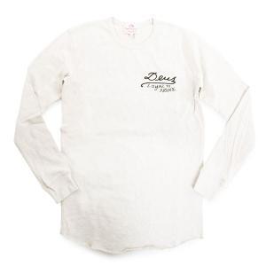 Deus Ex Machina デウスエクスマキナ DMP61949B Loyal To None Tee クルーネック 長袖Tシャツ カットソー ロンT 刺繍 カラーOAT-MARLE|s-musee